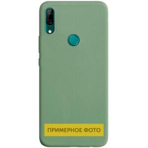 Матовый силиконовый TPU чехол для Vivo Y15 / Y17 – Фисташковый