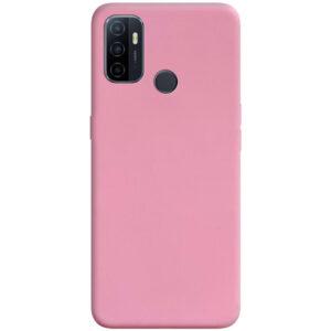 Матовый силиконовый TPU чехол для Oppo A53 / A32 / A33 – Розовый