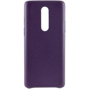 Кожаный чехол Leather Case для OnePlus 8 – Фиолетовый