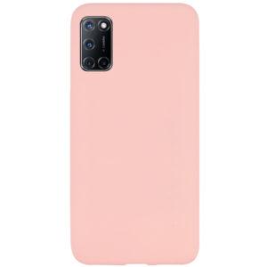 Матовый силиконовый TPU чехол для Oppo A52 / A72 / A92 – Розовый