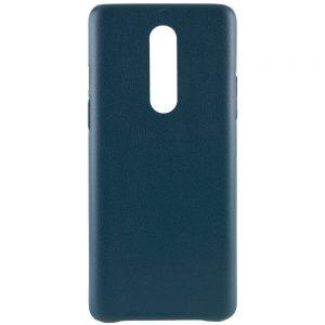 Кожаный чехол Leather Case для OnePlus 8 – Зеленый
