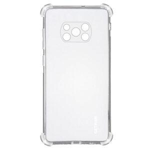 Чехол TPU GETMAN Ease с усиленными углами для Xiaomi Poco X3 NFC / Poco X3 – Clear