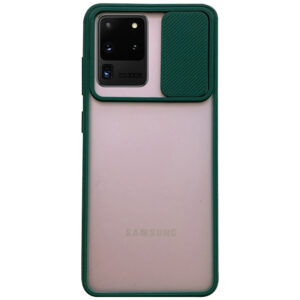 Чехол Camshield mate TPU со шторкой для камеры для Samsung Galaxy S20 Ultra – Зеленый