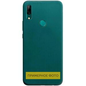 Матовый силиконовый TPU чехол для Vivo Y15 / Y17 – Зеленый / Forest green