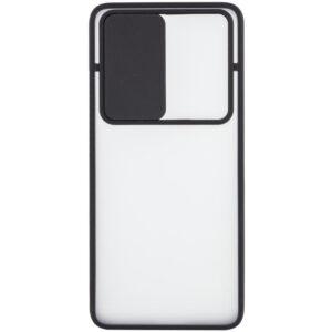 Чехол Camshield mate TPU со шторкой для камеры для Realme X3 SuperZoom / X3 / X50 – Черный