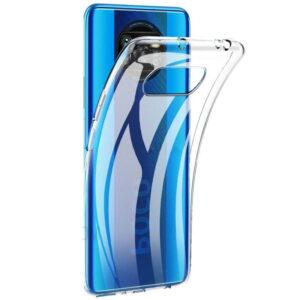 Прозрачный силиконовый TPU чехол для Xiaomi Poco X3 NFC / Poco X3