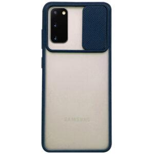 Чехол Camshield mate TPU со шторкой для камеры для Samsung Galaxy S20 – Синий