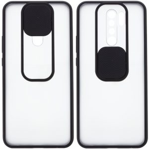 Чехол Camshield mate TPU со шторкой для камеры для Xiaomi Redmi 9 – Черный