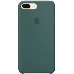 Оригинальный чехол Silicone case + HC для Iphone 7 Plus / 8 Plus – Зеленый / Pine green