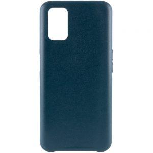 Кожаный чехол Leather Case для Oppo A52 / A72 / A92 – Зеленый