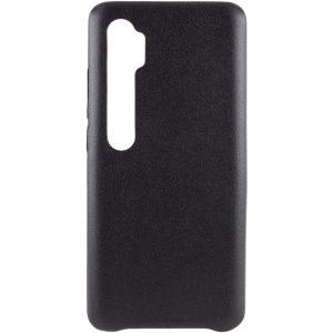 Кожаный чехол Leather Case для Xiaomi Mi Note 10 / 10 Pro – Черный