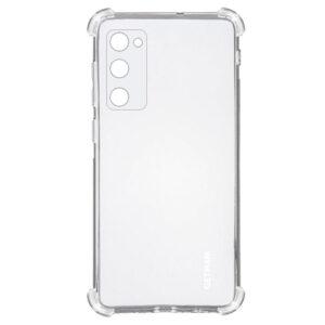 Чехол TPU GETMAN Ease с усиленными углами для Samsung Galaxy S20 FE – Clear
