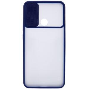 Чехол Camshield mate TPU со шторкой для камеры для Realme C3 – Синий