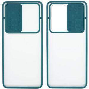 Чехол Camshield mate TPU со шторкой для камеры для OnePlus Nord – Зеленый