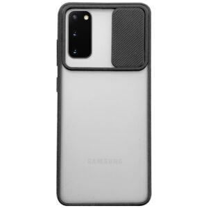 Чехол Camshield mate TPU со шторкой для камеры для Samsung Galaxy S20 – Черный