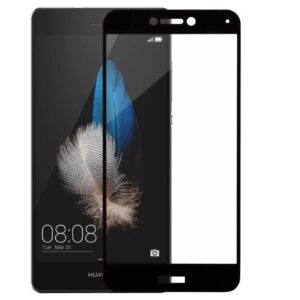 Защитное стекло 3D (5D) Full Glue Armor Glass на весь экран для Huawei P8 Lite 2017 – Black