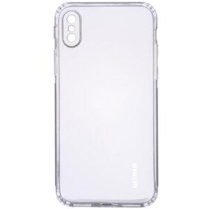 Прозрачный силиконовый TPU чехол GETMAN для Iphone X / XS