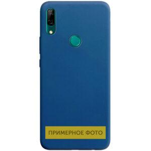 Матовый силиконовый TPU чехол для Vivo Y15 / Y17 – Синий