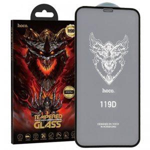 Защитное стекло 119D HOCO DG1 на весь экран для Iphone 12 Pro Max – Black