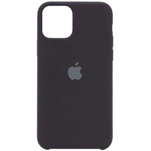 Оригинальный чехол Silicone case + HC для Iphone 12 Pro Max – Черный / Black
