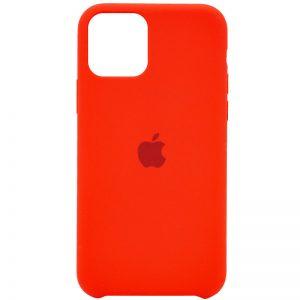 Оригинальный чехол Silicone case + HC для Iphone 12 Pro / 12 – Красный / Red