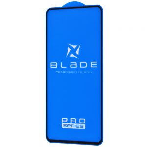 Защитное стекло 3D (5D) Blade Glass Full Glue на весь экран для Xiaomi Mi 10T / Mi 10T Pro – Black