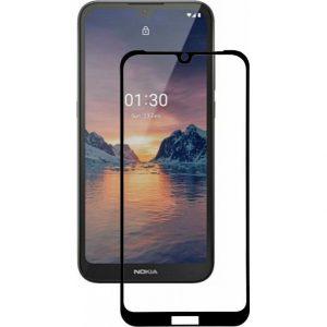Защитное стекло 9D Full Glue Cover Glass на весь экран для Nokia 1.3 – Black