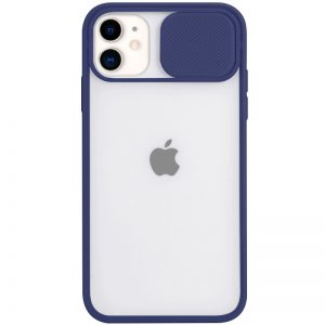Чехол Camshield mate TPU со шторкой для камеры для Iphone 11 – Синий