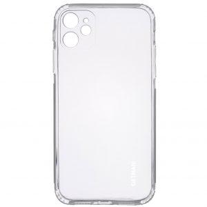 Прозрачный силиконовый TPU чехол GETMAN для Iphone 12