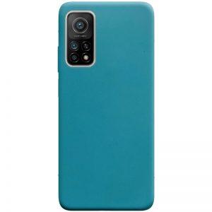 Матовый силиконовый TPU чехол для Xiaomi Mi 10T / Mi 10T Pro – Синий / Powder Blue