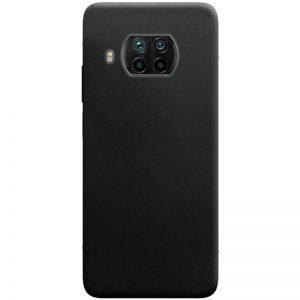 Матовый силиконовый TPU чехол для Xiaomi Mi 10T Lite / Redmi Note 9 Pro 5G – Черный