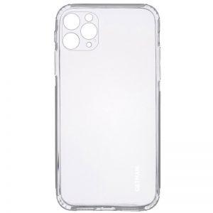Прозрачный силиконовый TPU чехол GETMAN для Iphone 12 Pro Max