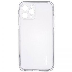 Прозрачный силиконовый TPU чехол GETMAN для Iphone 12 Pro