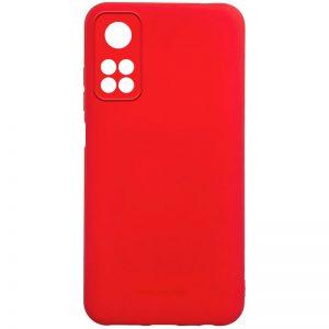 Силиконовый чехол TPU Molan Cano Smooth для Xiaomi Mi 10T / Mi 10T Pro  — Красный