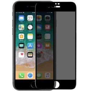 Защитное стекло Анти-шпион Privacy 5D Matte Full Glue для Iphone 7 / 8 / SE (2020) – Black