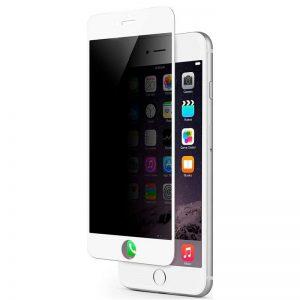 Защитное стекло Анти-шпион Privacy 5D Matte Full Glue для Iphone 7 / 8 / SE (2020) – White