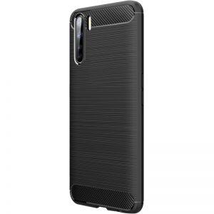 Cиликоновый TPU чехол Slim Series для Oppo A91 – Черный