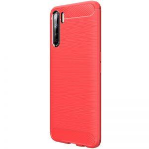 Cиликоновый TPU чехол Slim Series для Oppo A91 – Красный