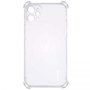 Чехол TPU GETMAN Ease с усиленными углами для Iphone 12 Pro – Clear