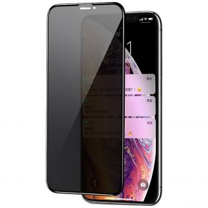 Защитное стекло Анти-шпион Privacy 5D Matte Full Glue для Iphone 12 Pro / 12 – Black
