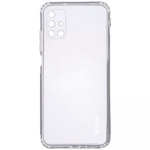 Прозрачный силиконовый TPU чехол GETMAN для Samsung Galaxy M51