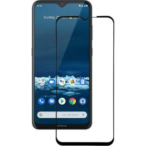 Защитное стекло 3D (5D) Full Glue Armor Glass на весь экран для Nokia 5.3 – Black