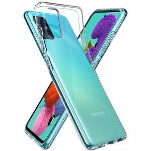 Прозрачный силиконовый TPU чехол для Samsung Galaxy M51