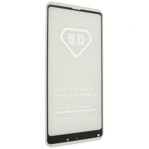 Защитное стекло 5D Full Glue Cover Glass на весь экран для Xiaomi Mi Mix 2s — Black