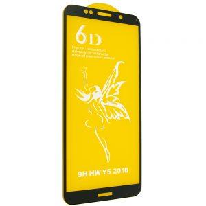 Защитное стекло 6D Premium для Huawei Y5 / Y5 Prime 2018 / Honor 7A – Black