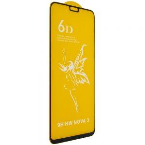 Защитное стекло 6D Premium для Huawei P Smart Plus / Nova 3i – Black