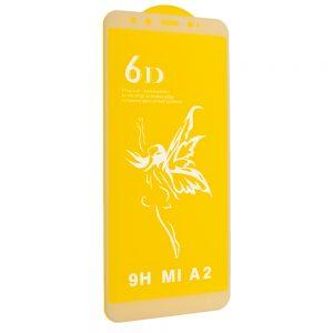 Защитное стекло 6D Premium для Xiaomi Mi 6x / Mi A2 – White