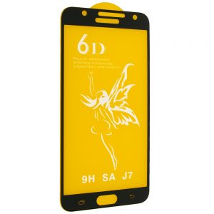 Защитное стекло 6D Premium для Samsung Galaxy J7 2015 (J700) – Black