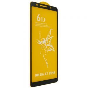 Защитное стекло 6D Premium для Samsung Galaxy A7 2018 A750 – Black