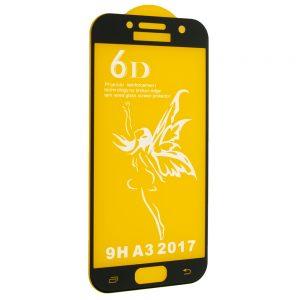 Защитное стекло 6D Premium для Samsung Galaxy A3 2017 (A320) – Black
